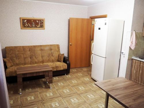 A seating area at Apartments on Dobrolubova №1