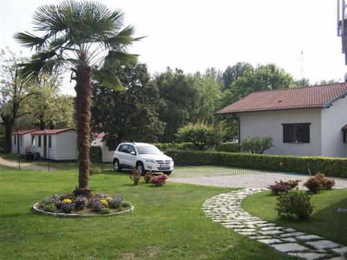 A garden outside Casa Belfiore
