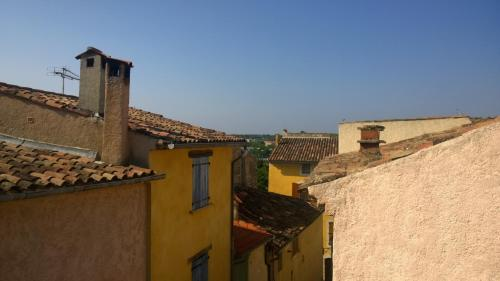 provencal house with sunny terrace