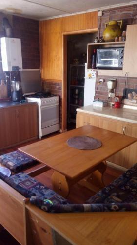 A kitchen or kitchenette at Puesto Patagon