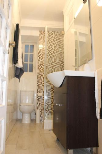 A bathroom at Apartamento S. Miguel Alfama