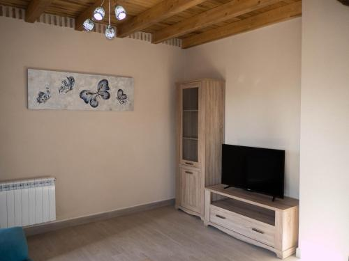 A television and/or entertainment center at Apartamentos La Fabrica