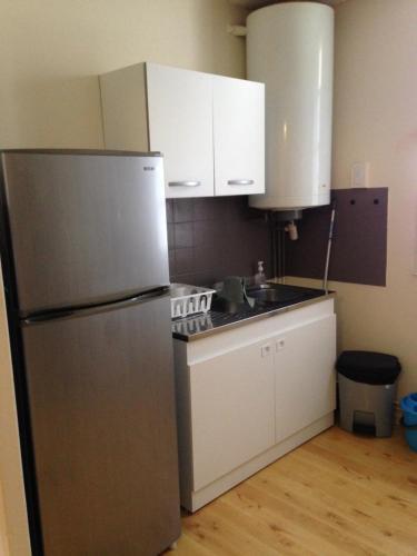 Cuisine ou kitchenette dans l'établissement studio 40m2