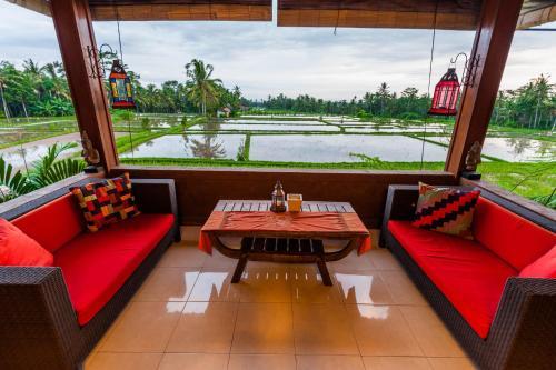 Villa Mangku in Ricefield