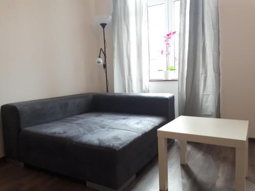 A bed or beds in a room at nice big apartment