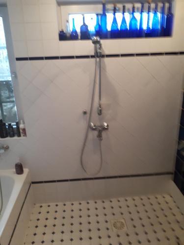 Ett badrum på Villa Emilia