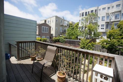 En balkong eller terrasse på Pacific Studio South