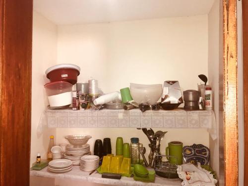 Una cocina o zona de cocina en Casa Em Praia Azul