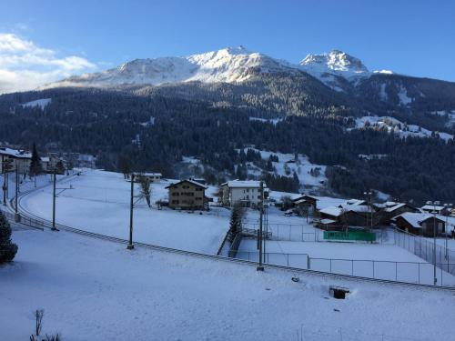 Penthouse in Klosters-Davos, 300mt from cable car