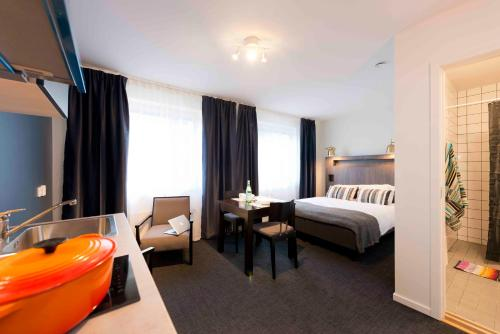 Foto hotell Stockholm Hotel Apartments Bromma