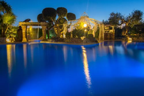 The swimming pool at or near villa lusso tiziana