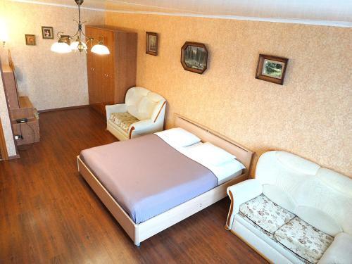 Кровать или кровати в номере Inndays on 9 Maya