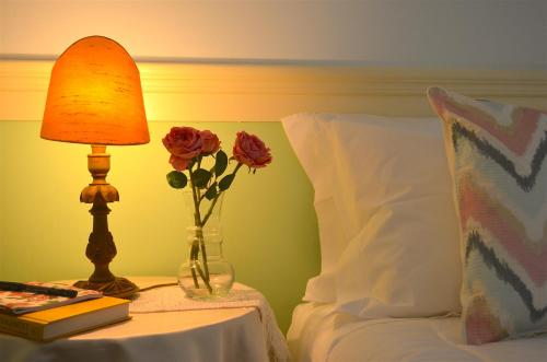 A bed or beds in a room at Chalet Santa Iria