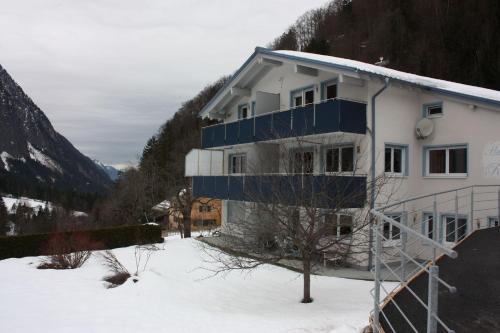 Ferienwohnung Arlberg during the winter