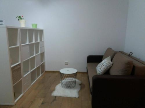 A seating area at TGM Apartment 1