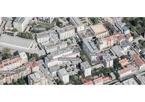 A bird's-eye view of Cityview