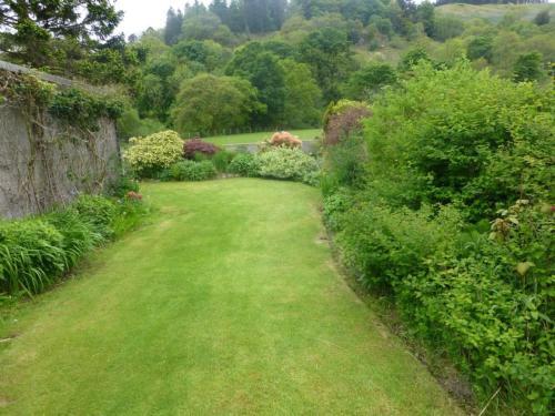 A garden outside Stybarrow Cottage, Stybarrow Terrace