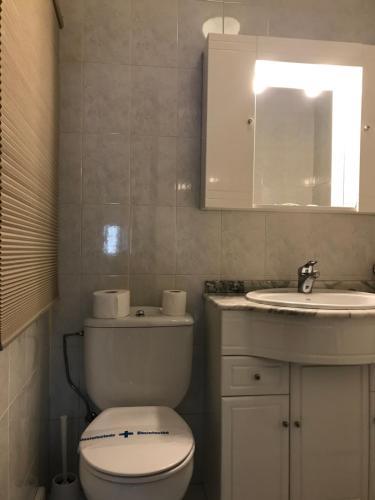 A bathroom at SCQ homes