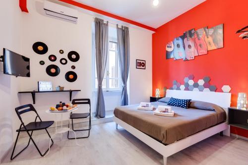 Kühlschrank Jukebox : Jukebox & rooms b&b italien rom booking.com