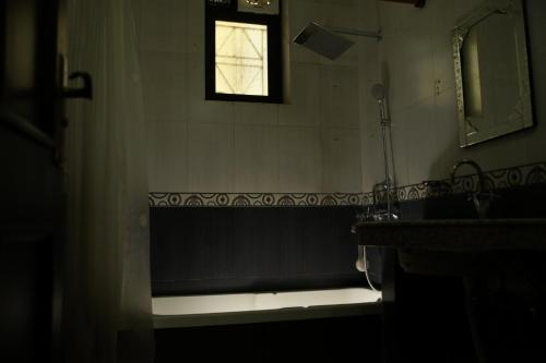 A bathroom at High View Cottage - Rishikesh