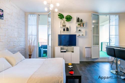Cama o camas de una habitación en Arthéva