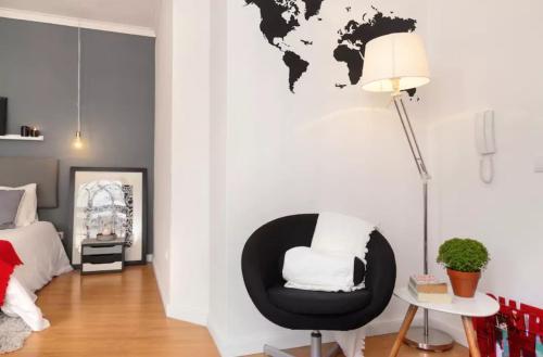 Oleskelutila majoituspaikassa Porta 33 Porto Apartments