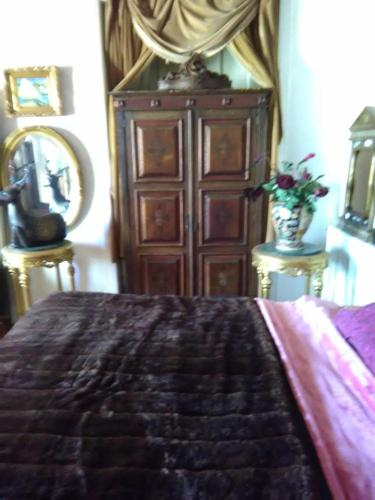 A bed or beds in a room at Solar Lavos