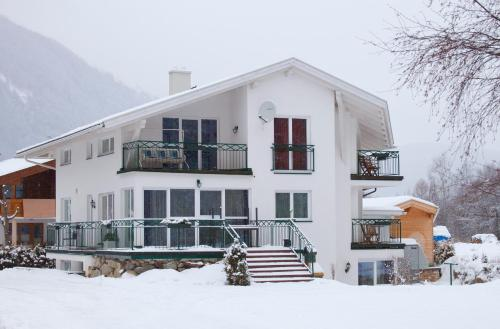 Haus Alpenflora en invierno