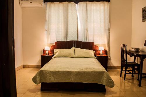 A bed or beds in a room at Bocamada
