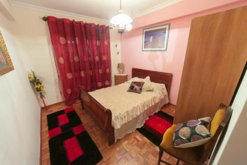 A bed or beds in a room at Lordelo