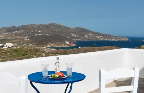 Balcon ou terrasse dans l'établissement Mykonos Pro-care Suites