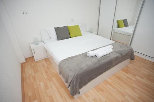 Krevet ili kreveti u jedinici u okviru objekta Vila Vanila