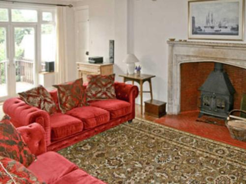 A seating area at The Mistress' House