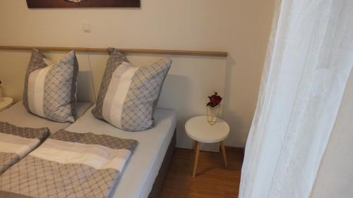 A bed or beds in a room at Apartment Paulina