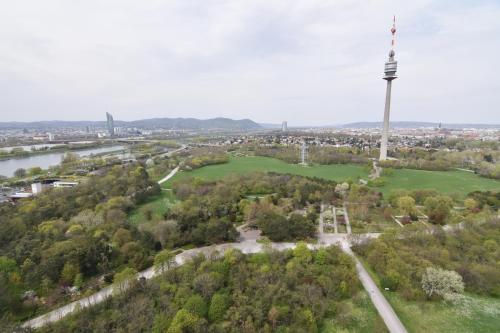Apgyvendinimo įstaigos Vienna View Apartment vaizdas iš viršaus