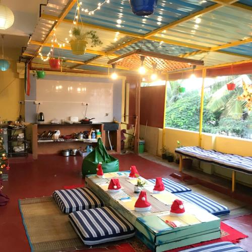 Image result for latest images ofTHE LITTLE BLUE WINDOW HOSTEL in bangalore