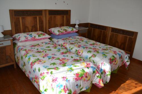 Letto o letti in una camera di Ka' Tari