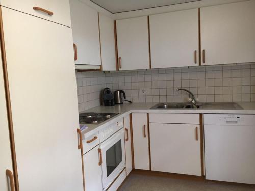 A kitchen or kitchenette at Appartement Fernsicht Triesenberg