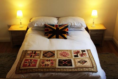 Cama o camas de una habitación en Two Moors Retreat