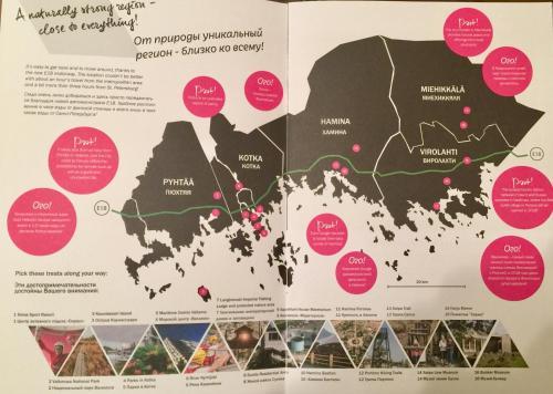 Majoituspaikan Apartments in Finland N & P kuva ylhäältä päin