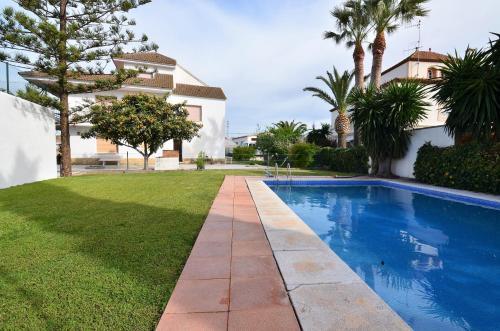 The swimming pool at or near Villa Cala Bona