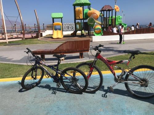 Biking at or in the surroundings of Departamento Peninsula