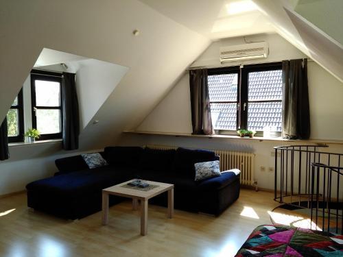 A seating area at Katharina