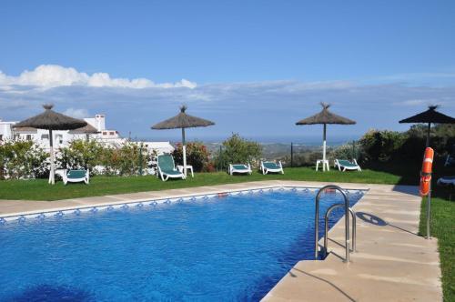 Het zwembad bij of vlak bij Casa La Florista