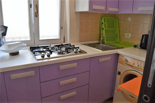 A kitchen or kitchenette at Apartment Old Town