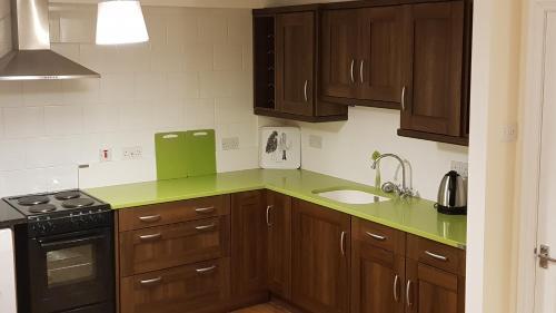 A kitchen or kitchenette at Kavanaghs Bar & Venue Townhouse
