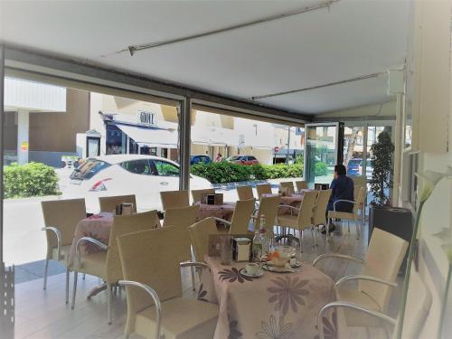 Restaurace v ubytování Residence Le Caravelle Deluxe