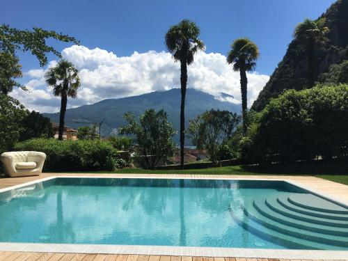 The swimming pool at or near Villa Angelica