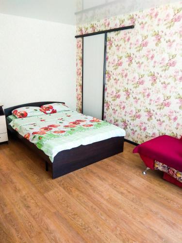 Кровать или кровати в номере Apartment On Moskovsky Prospekt