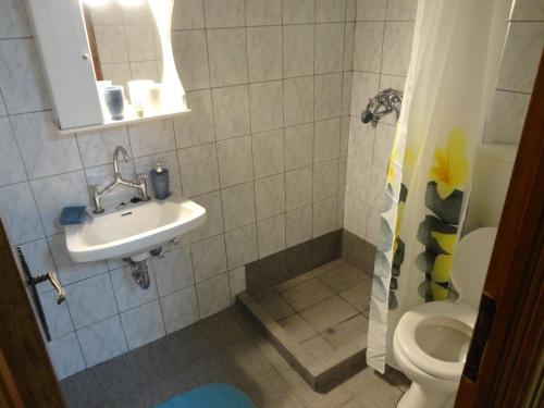 Kupatilo u objektu Stamatela Studios